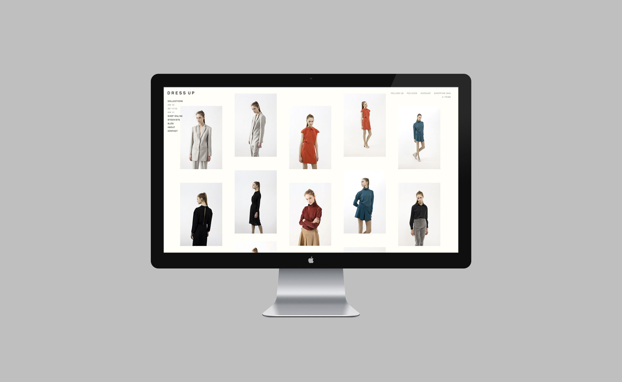 Dress Up - Website 1