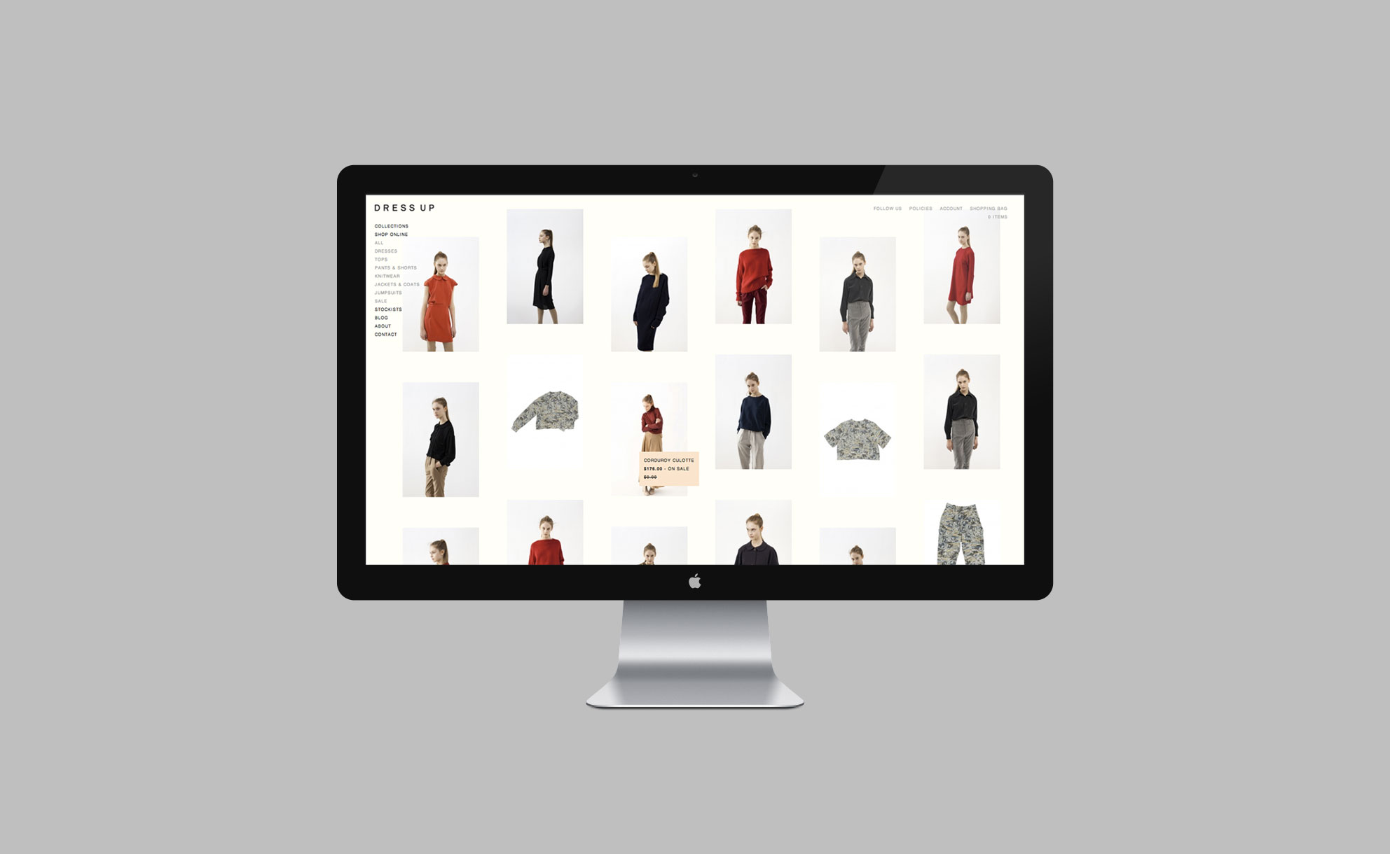 Dress Up - Website 3
