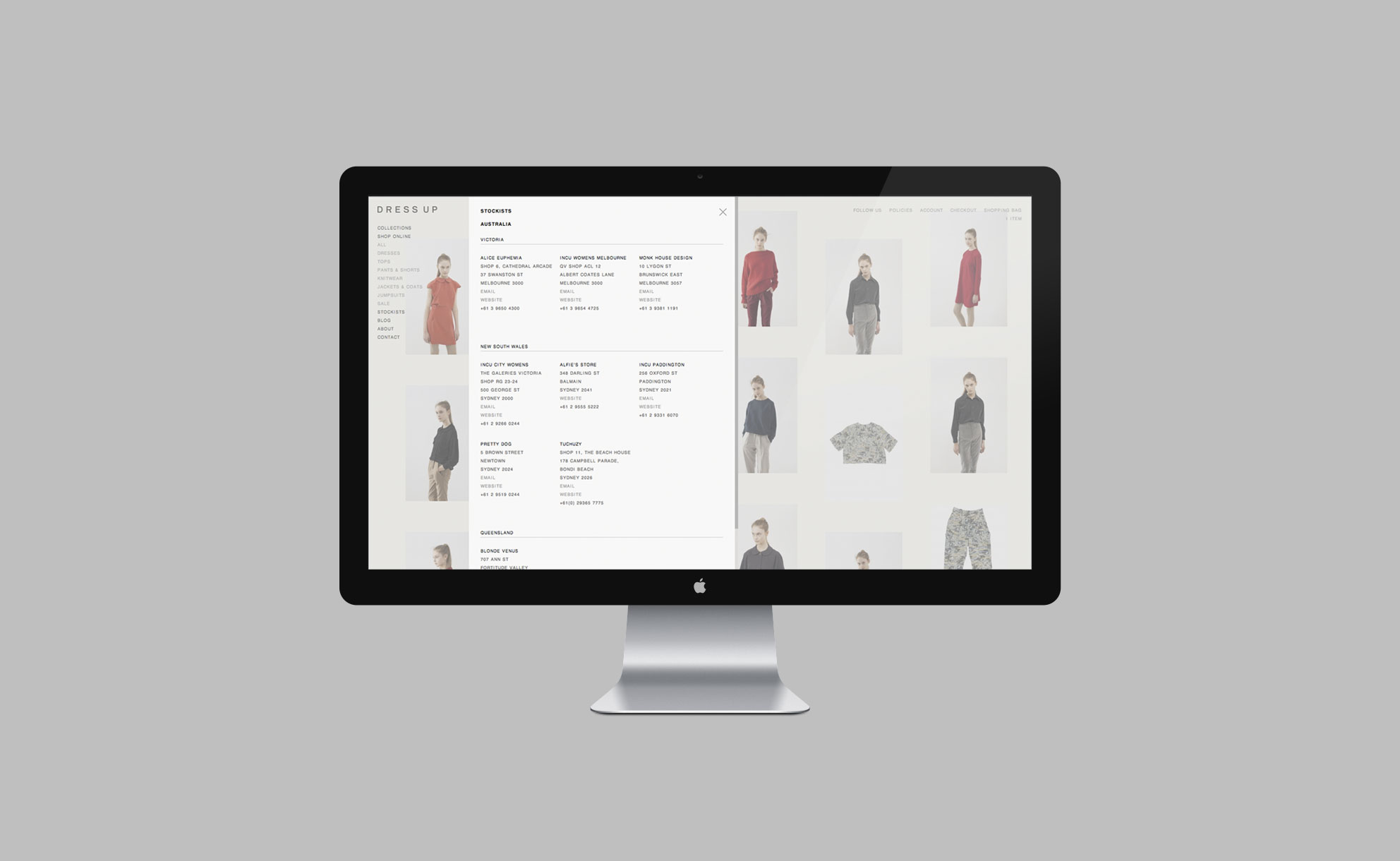 Dress Up - Website 5