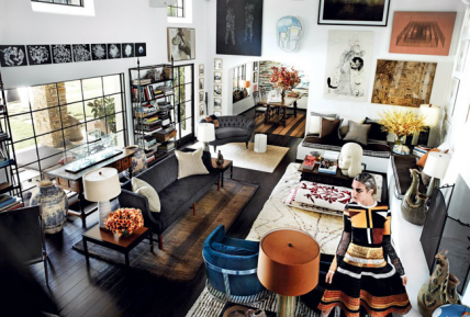 Mario Testino's Los Angeles Home