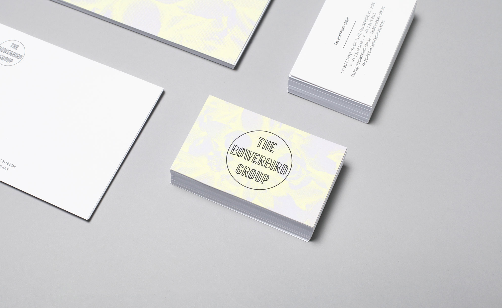 The Bowerbird Group - Business Card