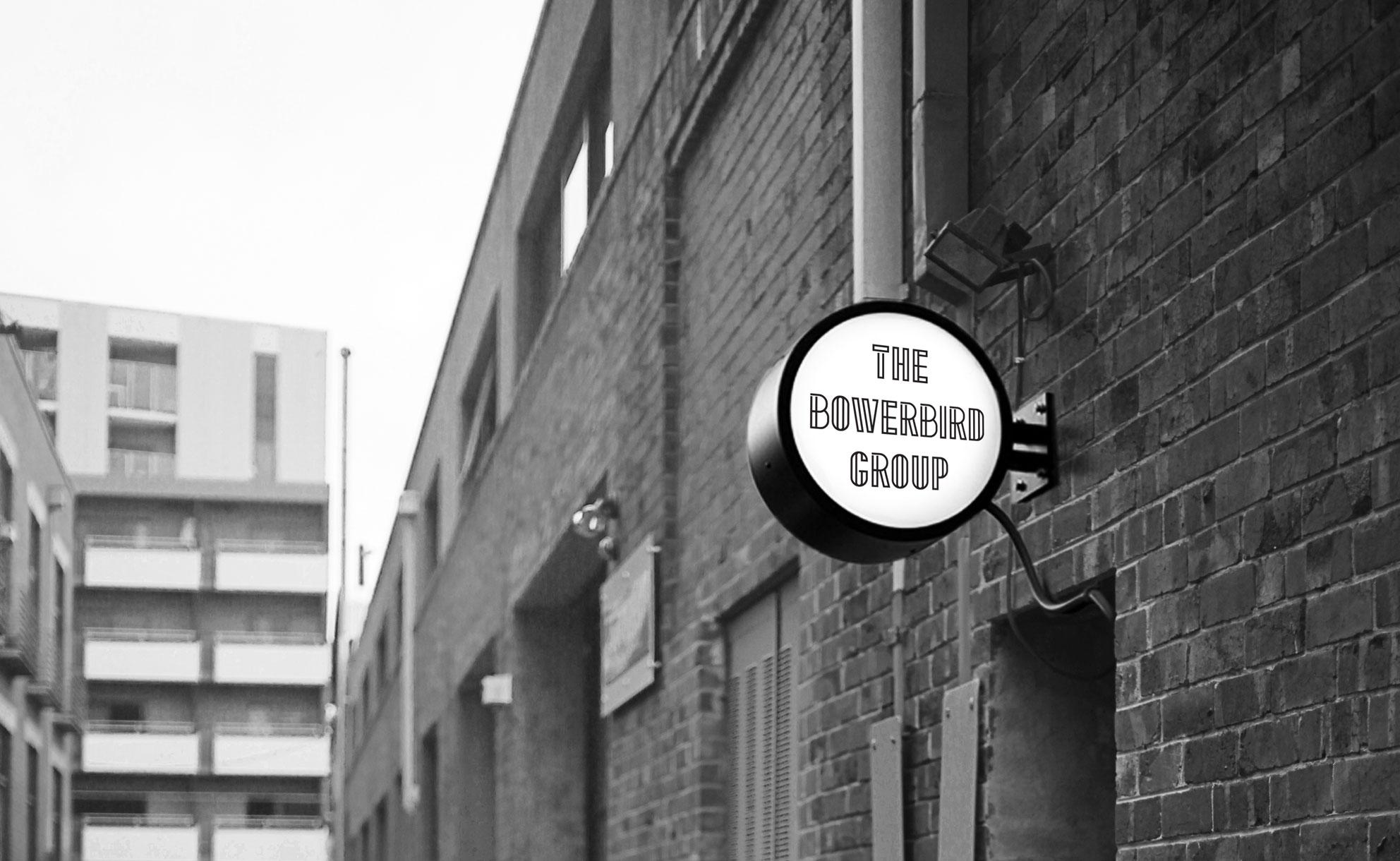 The Bowerbird Group - Signage