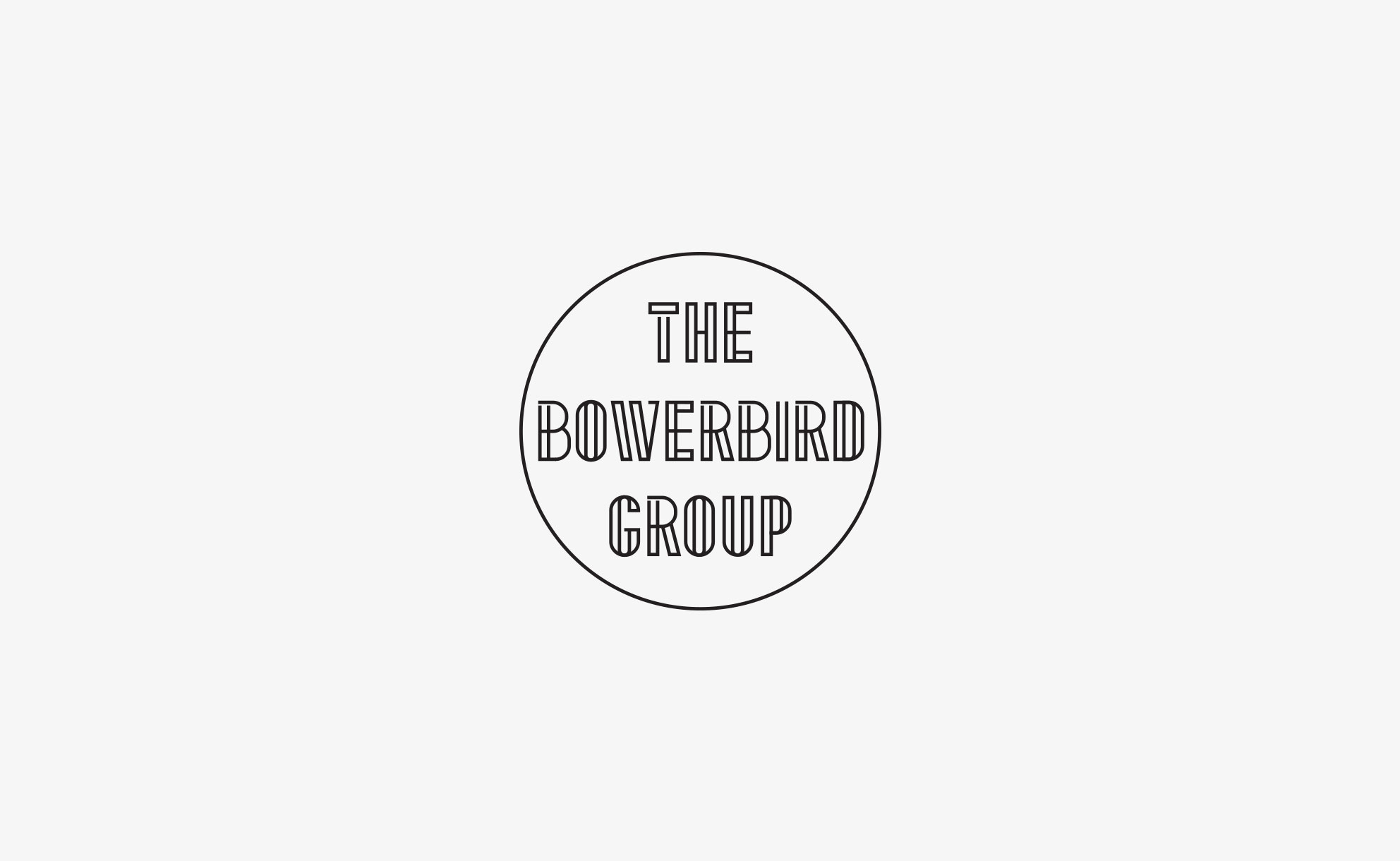 The Bowerbird Group - Logo