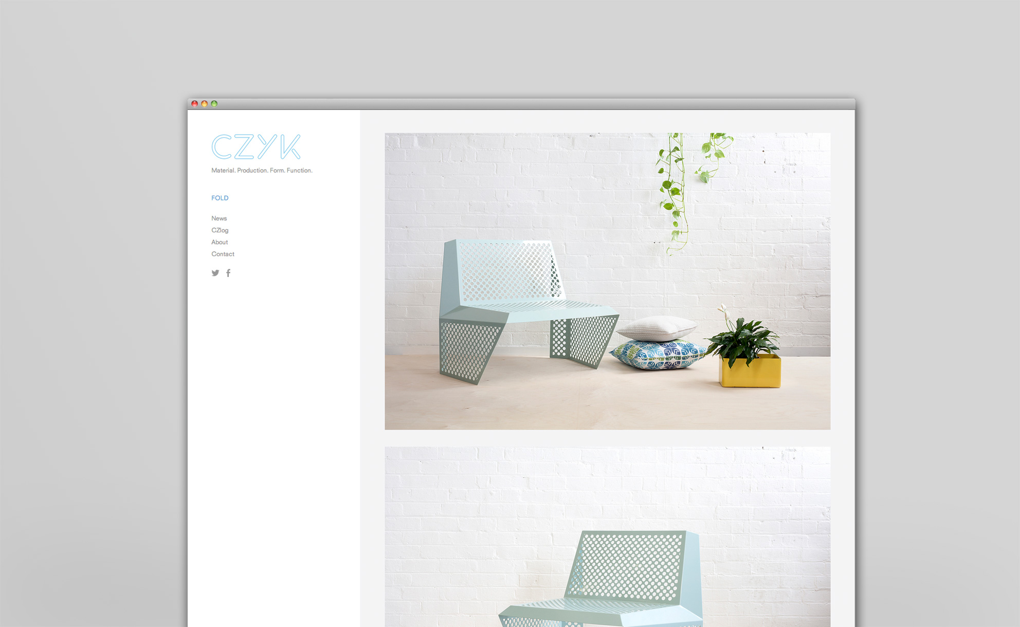 CZYK Desktop Website