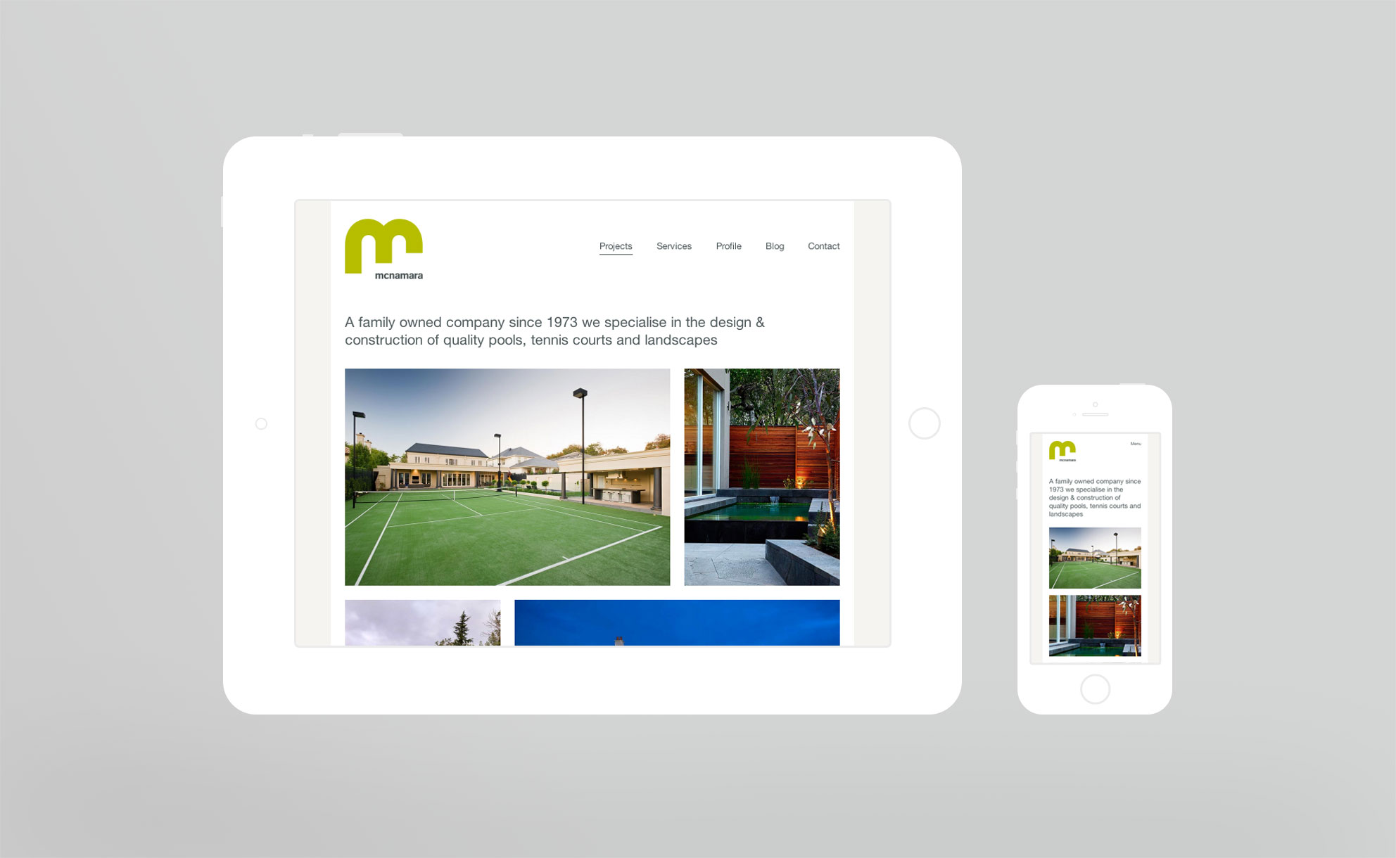 McNamara Responsive Website